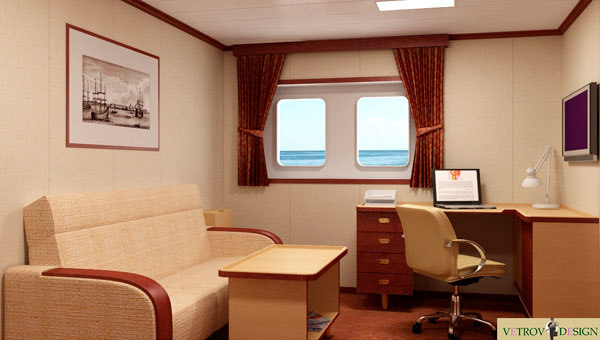"""Project """"Maritime hotel"""""""