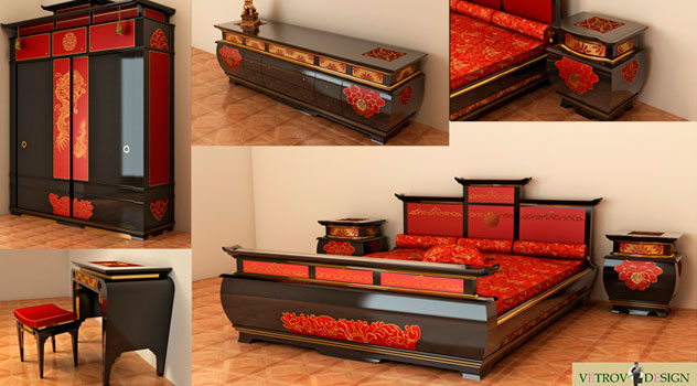 "Project ""Suite of furniture ""Li Bai"""